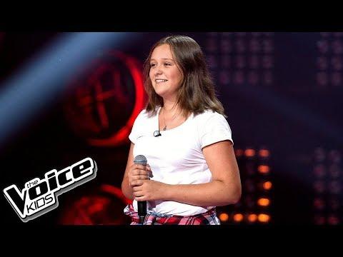 Julia Borowik - 'Lustra' - Przesłuchania w ciemno - The Voice Kids Poland 2