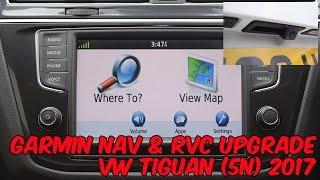 VW Nav Upgrade by Kenwood/Garmin for VW Tiguan 2017