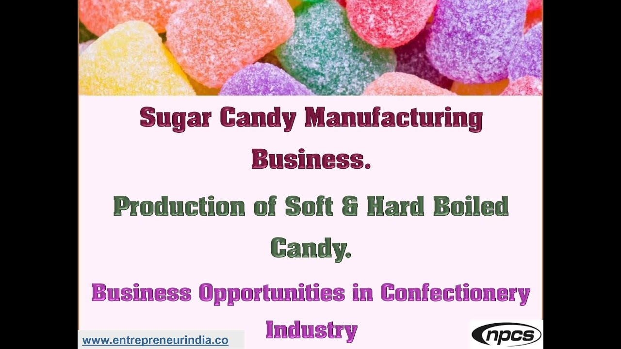 Manufacturing industry confectionery