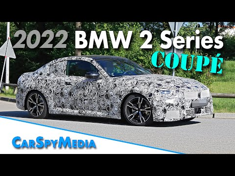 2022 BMW 2 Series Coupé G42 prototype spied testing in Munich