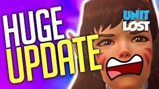 Overwatch News - HUGE PTR PATCH! Ana and D.Va...