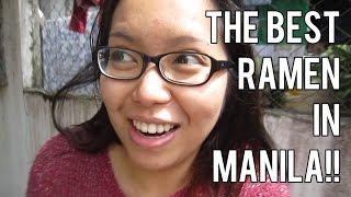 The Best Ramen In Manila! (february 15, 16, 17, 2015) - Saytiocoartillero