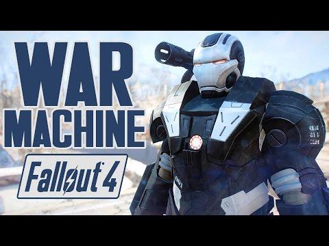 fallout-4-mods---war-machine-power-armor!---full-showcase,-location-&-colors---xb1-pc