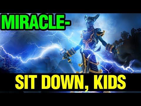 Sit Down, Kids! - Miracle- Razor - Dota 2