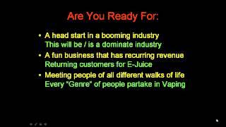 Vapor Lounge Blueprint - Learn How To Start A Vapor Lounge