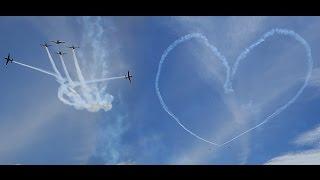 Keren Tanda Cinta dari TNI AU di Langit NKRI