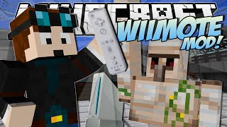 Minecraft | WiiMOTE MOD! (Control ANY Mob, Create Explosions and More!) | Mod Showcase