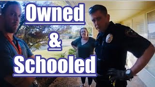 CPS & Officer Get Owned And Laughed At