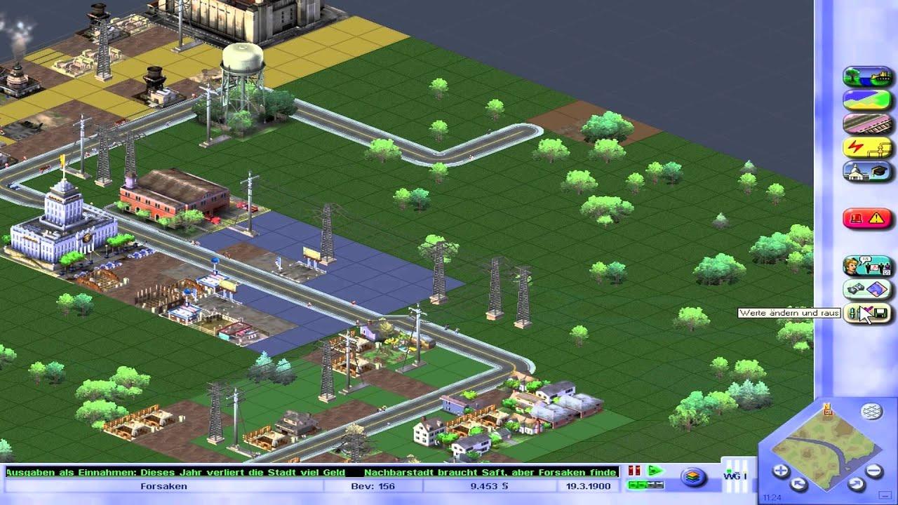 lets play simcity 3000 1 die errichtung einer gro stadt