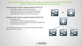 Видео уроки Cisco Packet Tracer. Курс молодого бойца. Урок 8(СКАЧАТЬ КУРС ЦЕЛИКОМ - http://skill-admin.blogspot.ru/p/cisco-packet-tracer.html В данном уроке мы познакомимся с коммутаторами треть..., 2014-10-16T09:34:26.000Z)