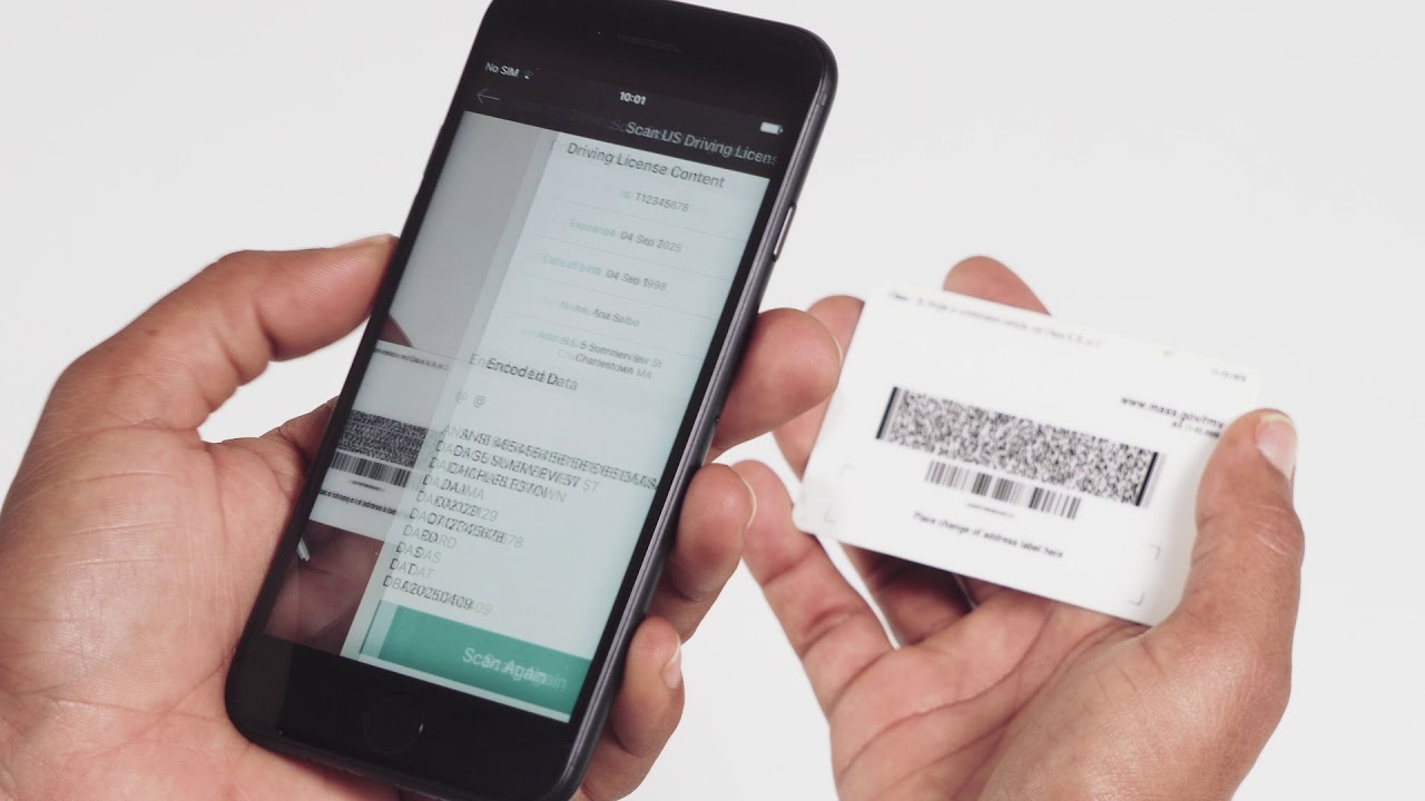 Scan PDF417 on Tickets, Boarding Passes, and IDs