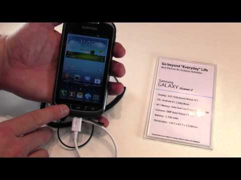 Samsung Galaxy Xcover 2: Erster Eindruck des Outdoor-Handys