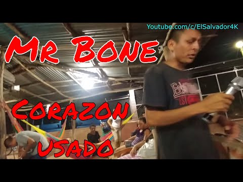 Mr Bone Corazon usado. Karaoke pasando el tiempo. Parte 2
