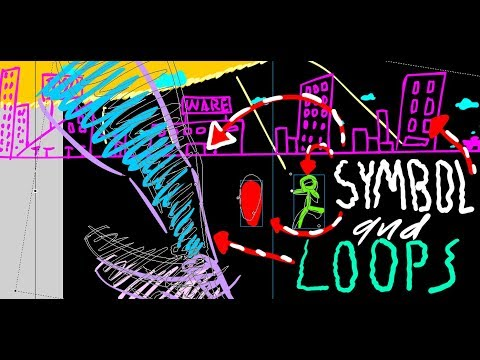 Flash Animation Tutorial: Make Symbols and Loops