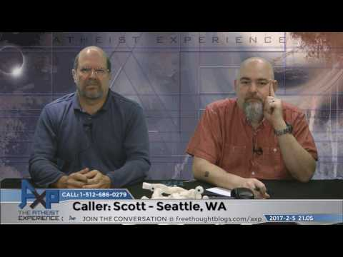 Atheist Experience 21.05 with Matt Dillahunty and John Iacoletti