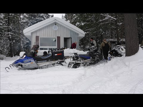 MY CABIN IN THE WINTER!!!