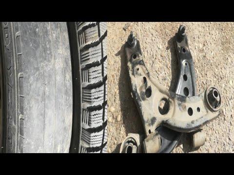 Замена рычага (шаровой) Toyota Passo , СЪЕЛО РЕЗИНУ  ужас!!!!