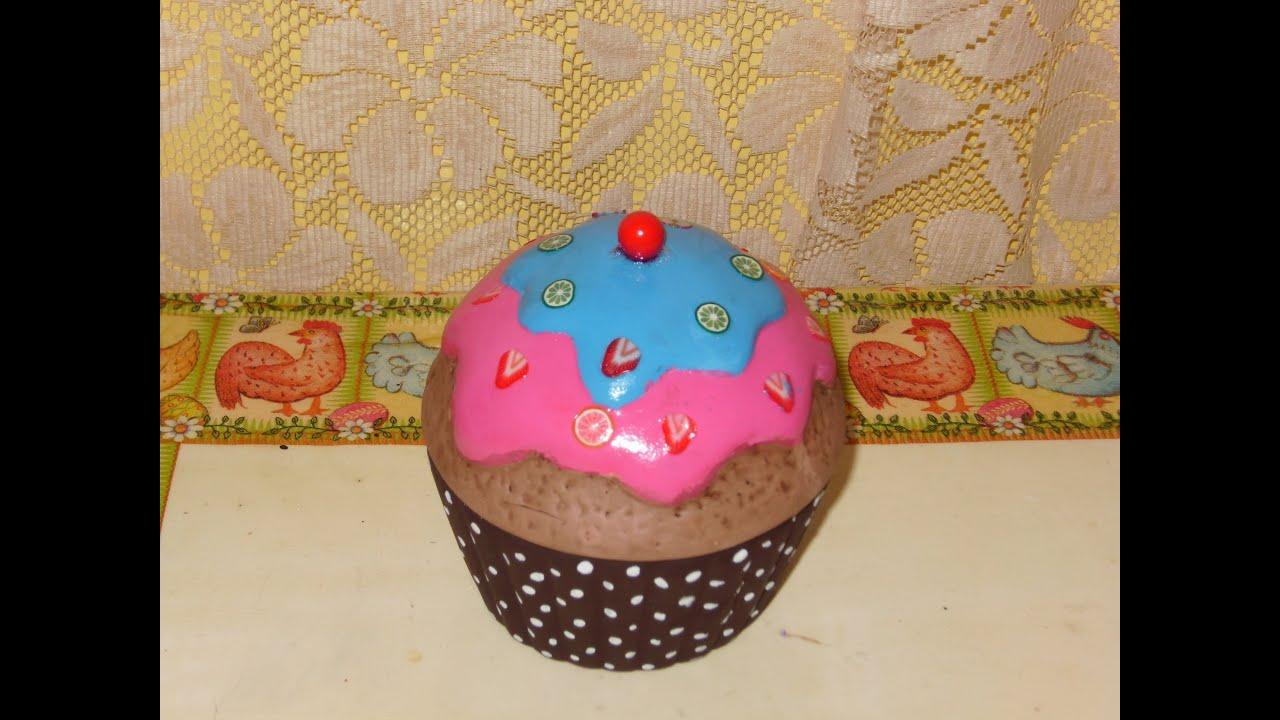 Diy c mo pintar un cupcake en cer mica youtube for Como revestir una pared con ceramica