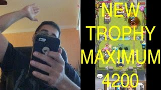 Clash Royale Level 11 Legendary Arena 4200 New Trophy Max