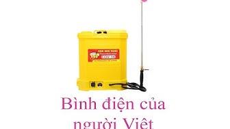 [0967.770.660] Bình phun thuốc sâu bằng điện giá rẻ Con Ong Vàng