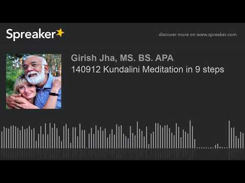140912 Kundalini Meditation in 9 steps