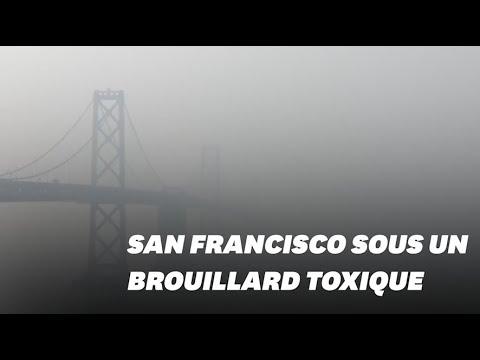 San Francisco est recouverte d'un brouillard d'air toxique