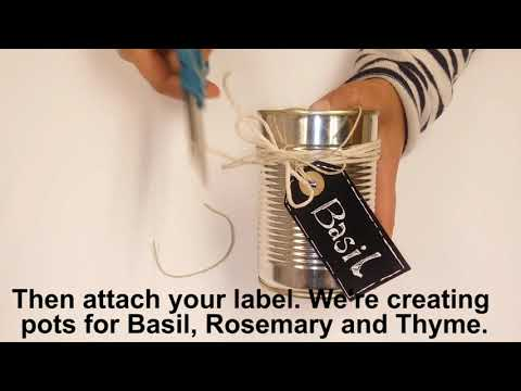 Enfield Council Upcycling Film - Tins