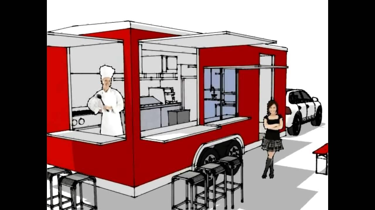 Carrito de comida rapida youtube for Carritos y camareras de cocina