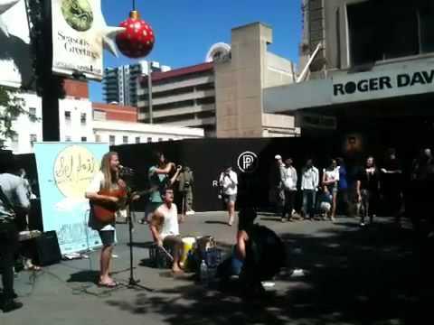 Adelaide street artist