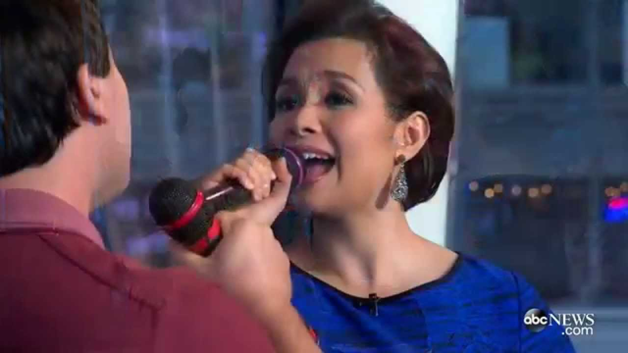 Lea salonga sings a whole new world