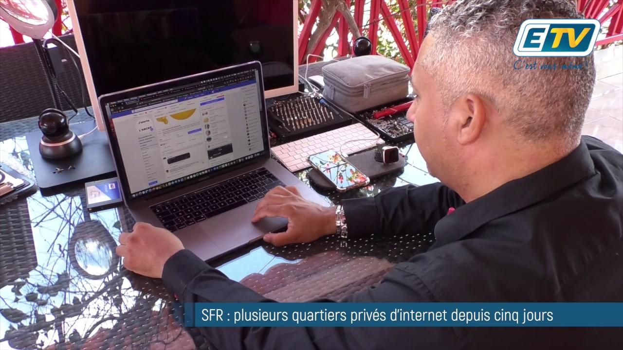 SFR : plusieurs quartiers privés d'internet depuis cinq jours