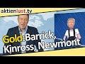 Barrick Gold, Newmont Mining, Kinross: Goldaktien zu Weihnachten? | aktienlust | Jürgen Schmitt