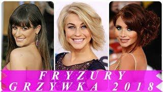Najlepsze fryzury damskie z grzywką 2018