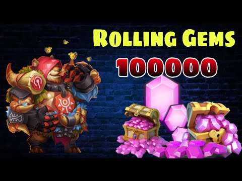 Jumbear | Rolling 100000 Gems On 1st Day | Worth It..? | Castle Clash