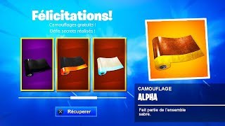 "DÉBLOQUER NOW a ""FREE CAMOUFLAGE"" on Fortnite! 🤩 (EXCLUSIVE)"