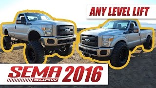 get any level lift with this bluetooth operated lift kit sema 2016