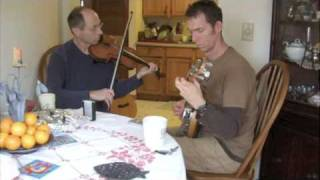 Irish Fiddle and Tenor Banjo Duet/ the Hag with the Money-Gillian