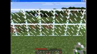 Как сделать Стеклянную Панель в Майнкрафт