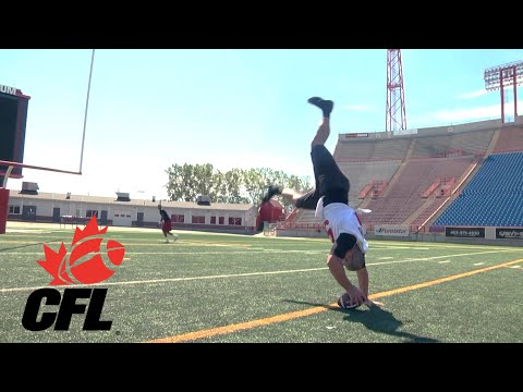 Snap Stand Alley-Oop | CFL #TNF