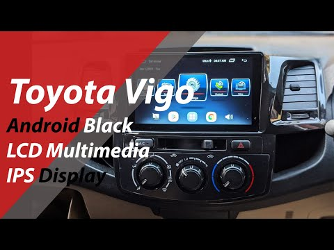 Toyota Vigo Android LCD Multimedia Navigation System - Best Gadgets - Best Car Accessories Store - 동영상