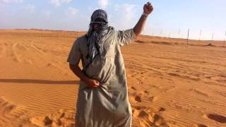 Arab Boys Dancing on Hindi Song in Desert