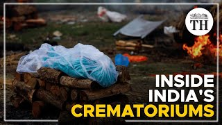 What is happening in India's crematoriums?