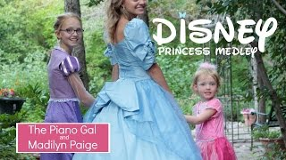 Download DISNEY PRINCESS MEDLEY - Madilyn Paige & The Piano Gal   Sara Arkell MP3 song and Music Video