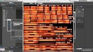 Уроки 3DS Max.  Запекание текстур с помощью VRAY