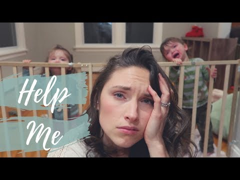 *REALISTIC* DITL WITH TWIN TODDLERS | EPIC MELTDOWN | Victoria Aniela