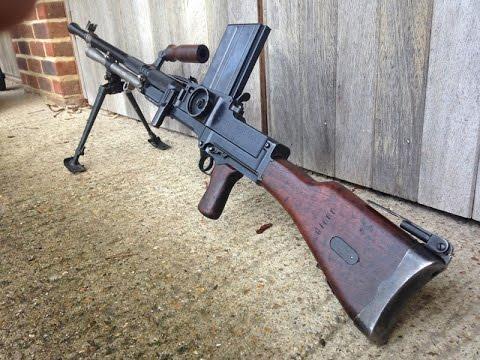 Hidden treasures of World War II - Metal Detecting Machine Gun MG 26 magazine  Bren MKII