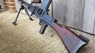 Hidden treasures of World War II - Metal Detecting Machine Gun MG 26 magazine  Bren MKII
