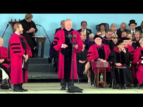 Morning Exercises | Harvard University Commencement 2014