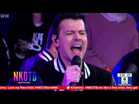 New Kids On The Block Boys In The Band, Right Stuff, Step By Step, Hanging Tough GMA Live 2019