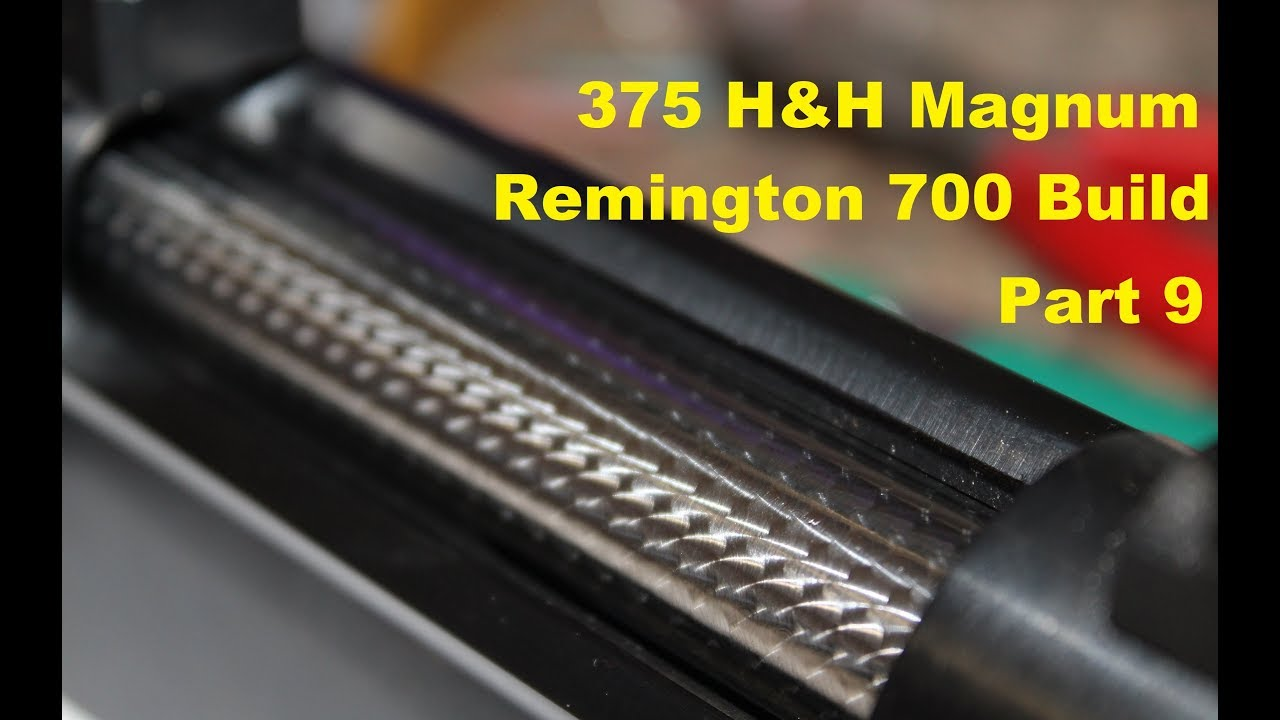 375 H H Magnum Build Part 9 Jeweling The Bolt Youtube